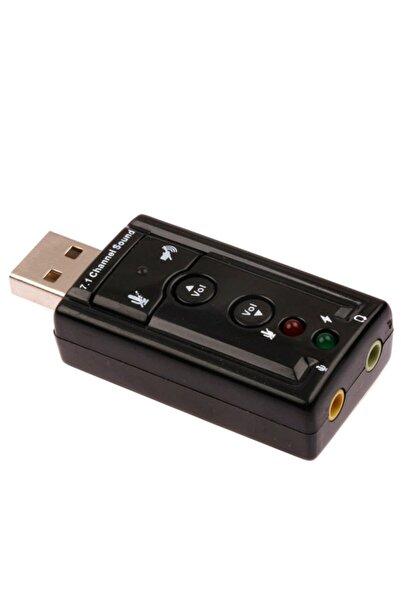 Notespare 7.1 Usb Ses Kartı Çevirici Dönüştürücü 4506p Kulaklık Mikrofon