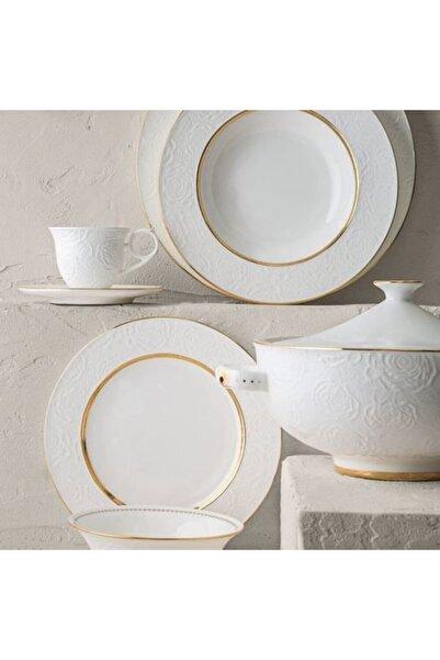 Luxury Bone Çırağan 84 Parça Porselen  Yemek Takımı