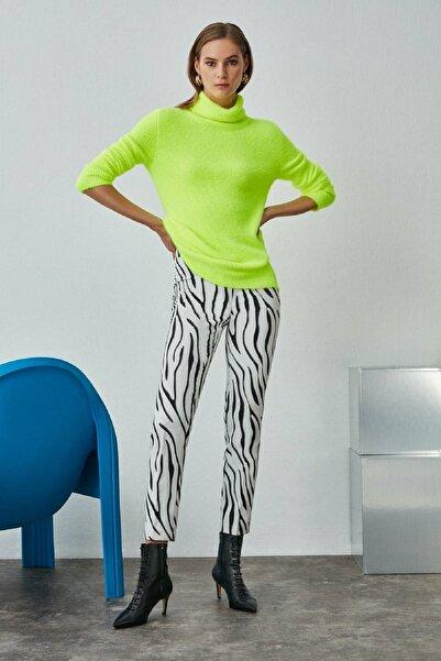 Nocturne Zebra Desenli Pantolon