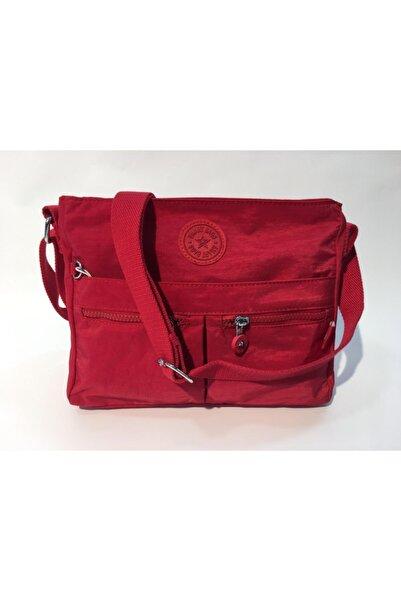 SMART BAGS Kadın Kırmızı Postacı Omuz Askılı Çanta