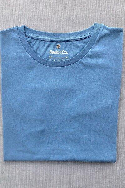 Kadın Mavi  Spor T-shirt Kolsuz