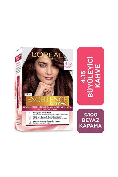 Saç Boyası - Excellence Creme 4.15 Büyüleyici Kahve 3600520971025