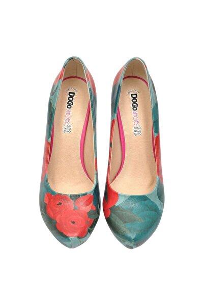 Dogo Roses Topuklu Kadın Ayakkabı