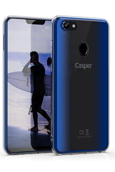 Casper Via G3 Kılıf Şeffaf Hibrit Silikon Esnek Tam Koruma
