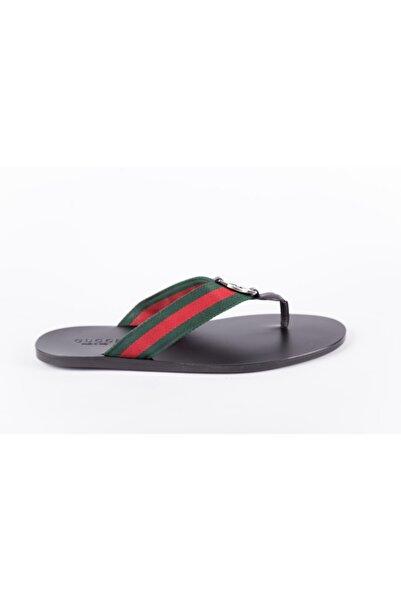Gucci Erkek Siyah Loafer
