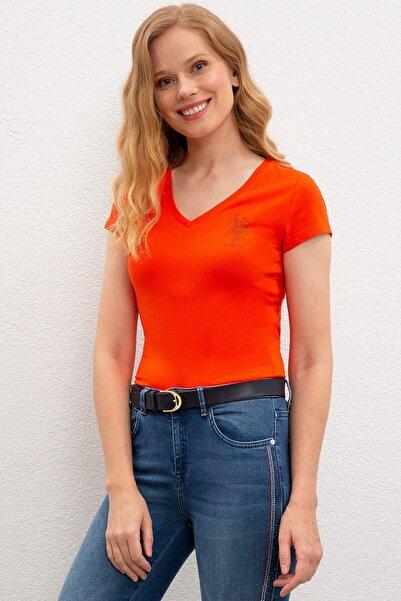 U.S. Polo Assn. Kadın Polo Yaka T-Shirt G082SZ011.000.949757
