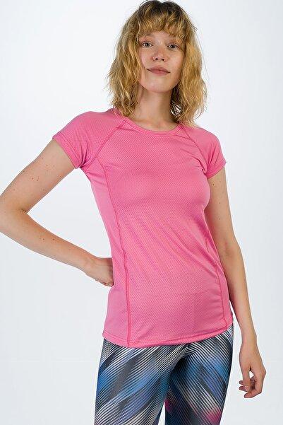 Runever Kadın Koyu Pembe T-shirt