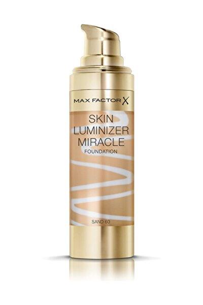 Max Factor Aydınlatıcı Etkili Fondöten - Skin Luminizer Miracle Foundation 60 Sand 30 ml 4084500158825