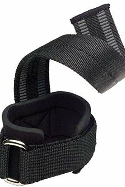 HARBINGER Big Grip Pro Lifting Straps Siyah