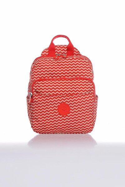 Barcelona Kadın Kırmızı Sırt Çantası BBrck3042-0134