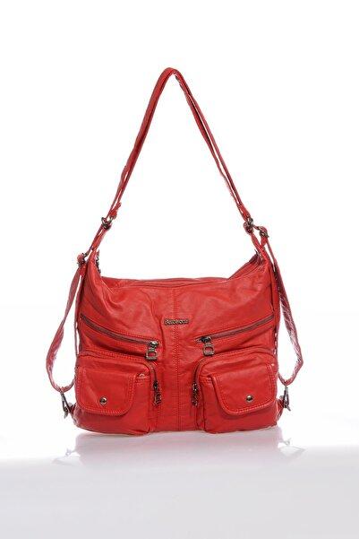 Barcelona Brc1643-0019 Kadın Kırmızı Omuz Çantası
