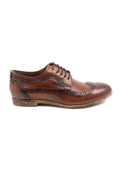 TETRİ Erkek Taba Hakiki Deri Klasik Ayakkabı