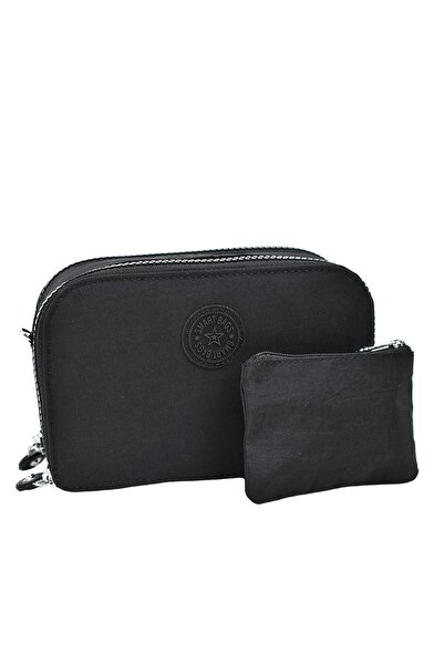 SMART BAGS Askılı Cüzdan Siyah 3038