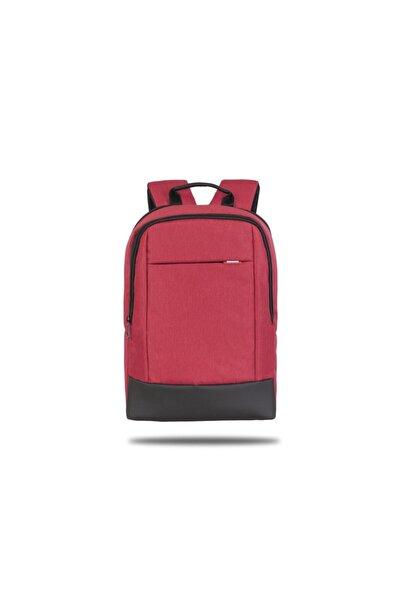 Classone BP-TW1502 TwinColor 15.6 in�� Uyumlu Laptop, Notebook Sırt  Çantası-Kırmızı