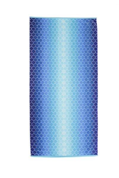 Özdilek Summer Heat New Ombre Mavi 70x140 cm Plaj Havlusu