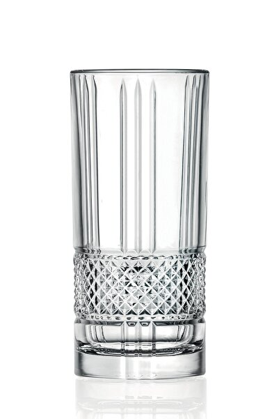RCR Crystal Rcr Brillante Long Drink Meşrubat Bardağı 370 Ml - 6'lı