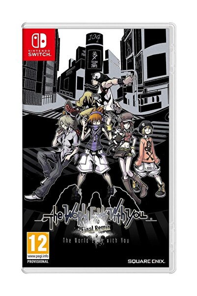 Nintendo The World Ends With You Final Remix Switch Oyun