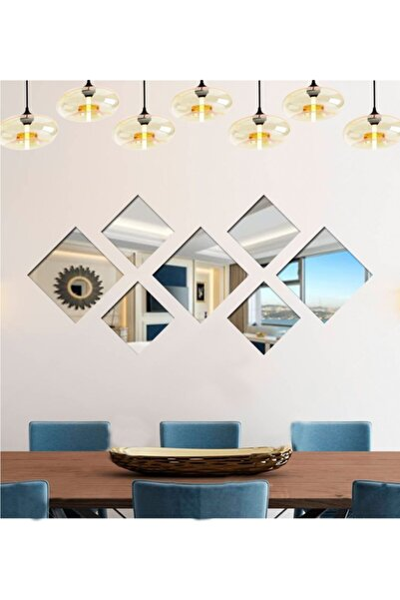 LYN HOME & DECOR Kare 7 Parçalı Ayna