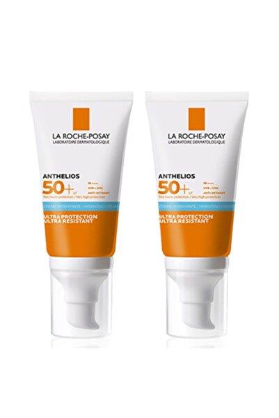 La Roche Posay Anthelios Ultra Spf50 Parfümsüz Güneş Kremi 50 Ml | 2 Kutulu Set Orijinal Boy