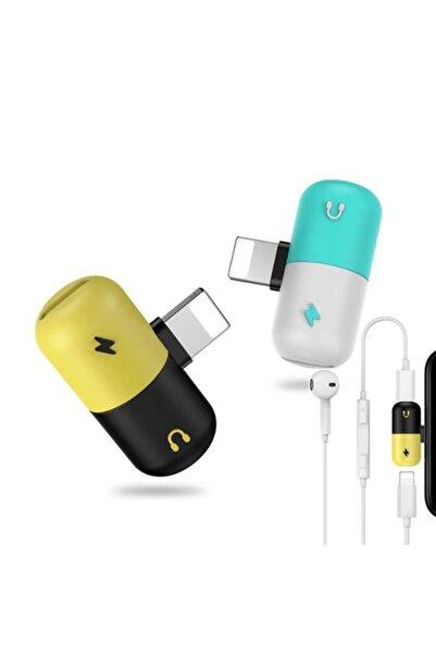 İMEXTECH Iphone Şarj Ve Kulaklık Birleştirici