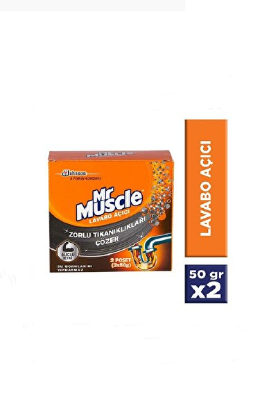 Mr. Muscle Granül Lavabo Açıcı 50 gr