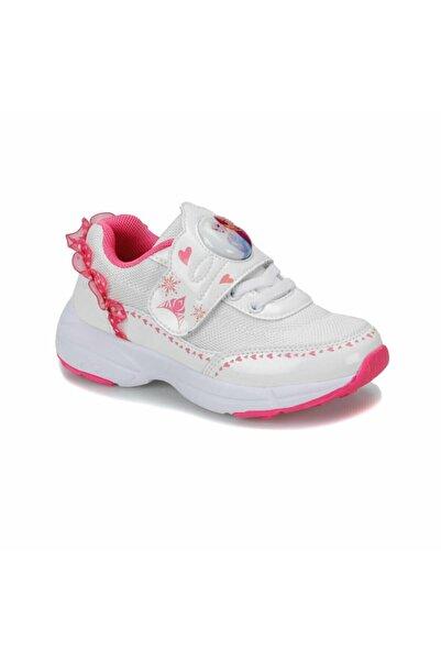 Frozen Kinetix Blonce Beyaz Işıklı Çocuk Spor Ayakkabı