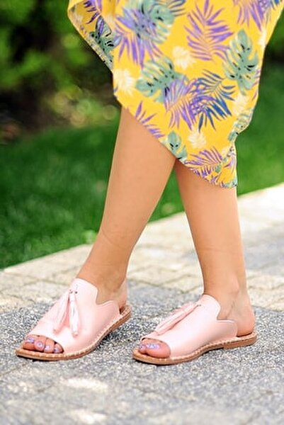 Pembe Potin Sandalet