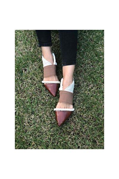 Bashaques Kadın Kahverengi Gaudı Sandalet