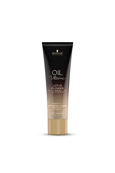 SCHWARZKOPF HAIR MASCARA Professional Oil Ultime Lotus Flower Oıl-ın-scrub 250 ml