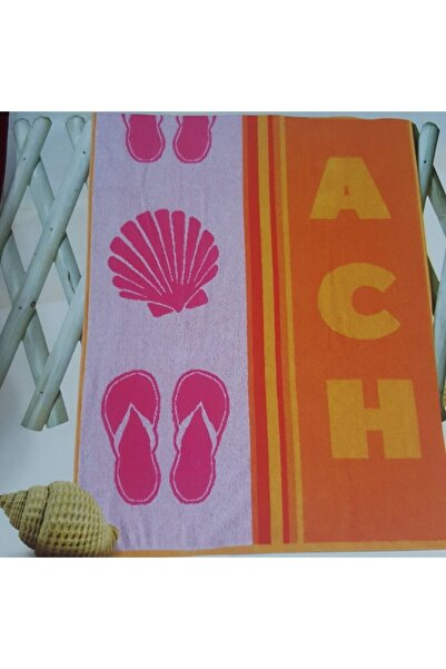 Özdilek Nice Plaj Havlusu Beach Orjinel Yellow