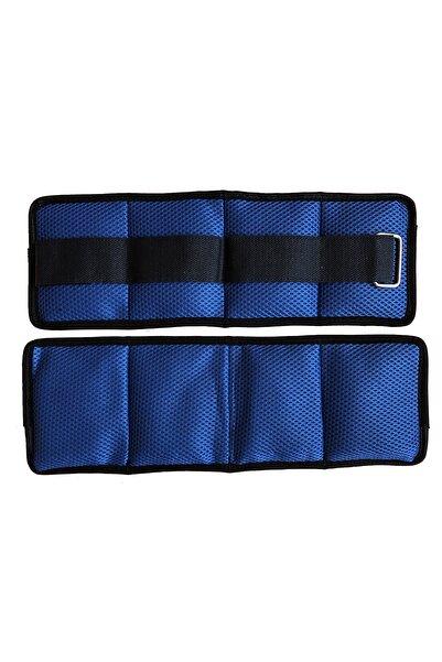 BLUU El Ve Ayak Bilek Ağırlığı 1kg X2 Adet Mavi