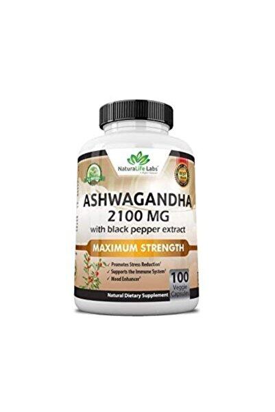 Naturelife Ashwagandha 2,100 mg 100 Kapsül