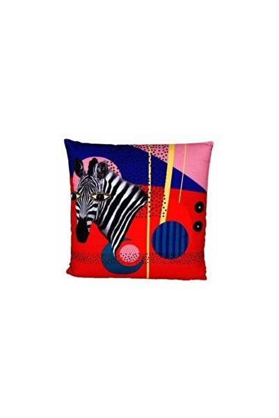Porland Wild Life Zebra Yastık 45*45