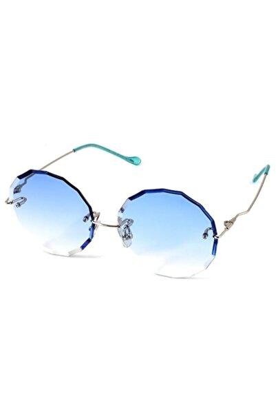 Safari S31176 Gümüş Yuvarlak Kadın Güneş Gözlüğü