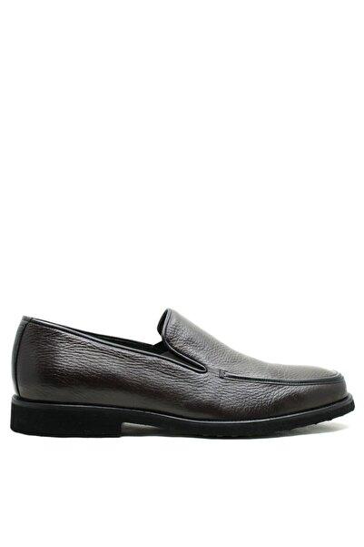 Buffalo Erkek Koyu Kahverengi Loafer Ayakkabı