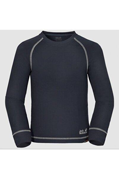 Jack Wolfskin Dry'n Cosy Longsleeve Çocuk Sweatshirt 1604621-1010