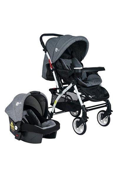 4 Baby Active Beyaz Travel Sistem Bebek Arabası Ve Puset