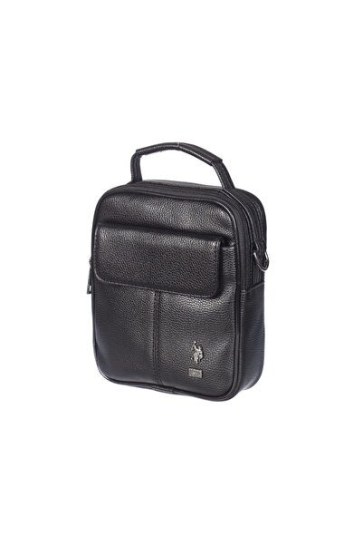 U.S. Polo Assn. Siyah Laptop Erkek Çantası Plevr6756