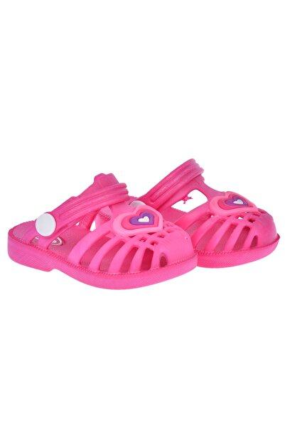 Kiko Kids Kız Çocuk Pembe Plaj Havuz Sandalet Terlik