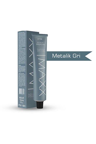 MAXX DELUXE Metalik Gri Krem Saç Boyası - 60ml