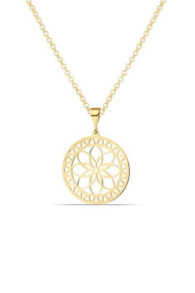 MySilvers Gümüş Yaşam Çiçeği Kolyesi