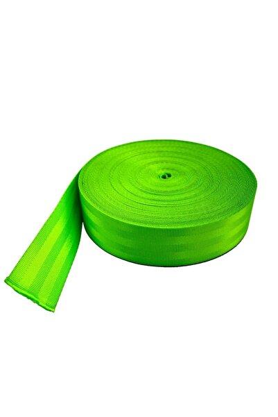 BoostZone Renkli Spor Emniyet Kemeri 10 Metre Açık Yeşil