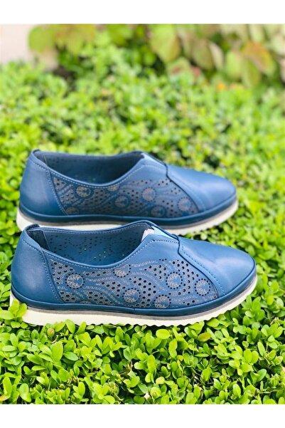 Venüs Kadın Mavi Casual Ayakkabı