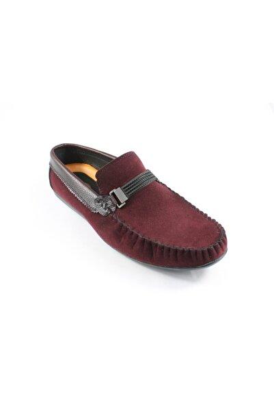 Palmera Erkek Bordo Süet Ayakkabı