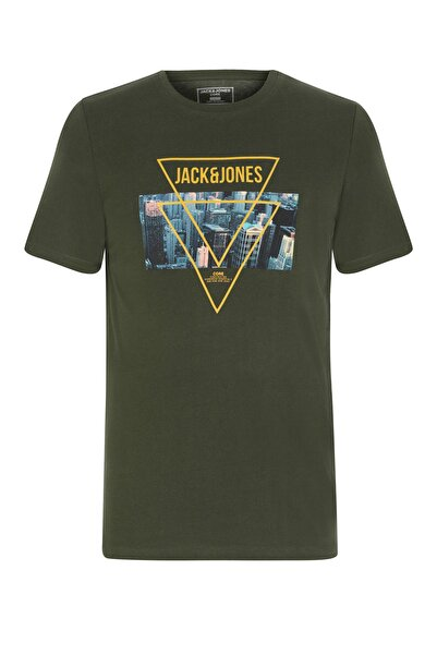 Jack & Jones Bisiklet Yaka T-Shirt 12182308 JCOJAMES