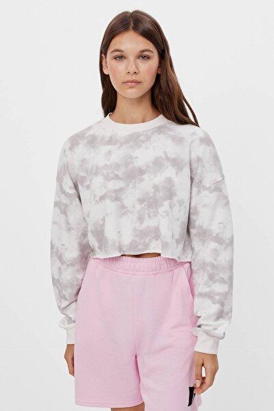 Bershka Cropped Sweatshirt