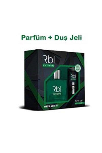 Rebul Orıjınal Rbl Extreme 90 Ml Parfüm + 200 Ml Duş Jeli Ikili Set