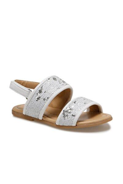 SEVENTEEN Sardunya.p Beyaz Kız Çocuk Sandalet