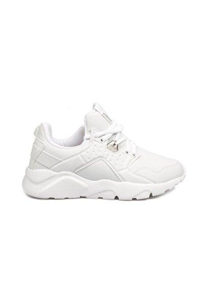 Jump Beyaz Kadın Yürüyüş Ayakkabısı 23904