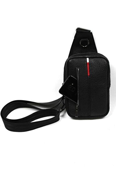 Newish Polo Deri Çapraz Çanta Cross Bodybag